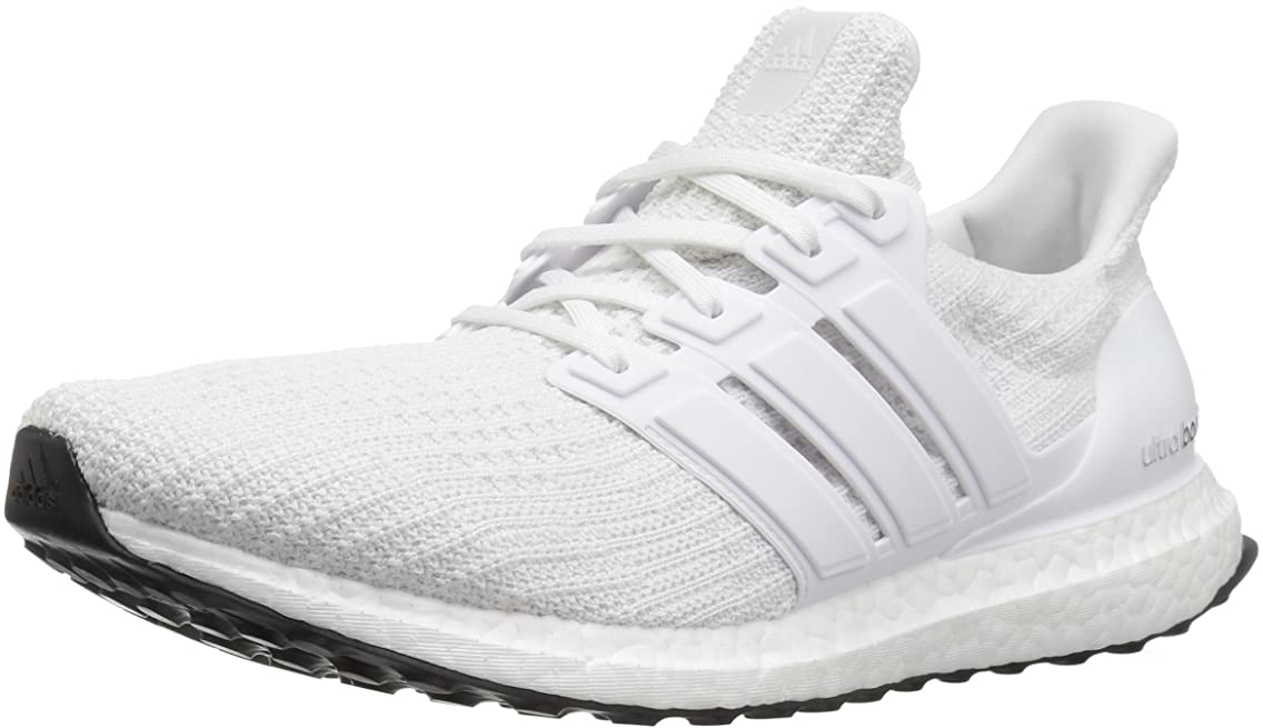 adidas Women's Ultra Boost W White/Red AQ5934