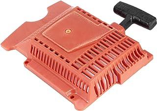 Omabeta Arrancador de Retroceso de Retroceso ABS, Conjunto de Arranque de Retroceso de Repuesto para Motosierra eléctrica 181281288 288XP