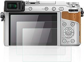 Mwoot 3 Unidades Protectores de Cristal Templado para Panasonic Lumix GX85/GX80 G80/G85 FZ2000/FZ2500 G7/FZ300 LX10/LX15 9H Dureza Resistente a Arañazo Protector de Pantalla