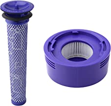 Wolfish Pre Filter + HEPA Post-Filter kit for Dyson V7, V8 Animal and Absolute Cordless Vacuum, Replacement Pre-Filter (DY-96566101) and Post- Filter (DY-96747801)