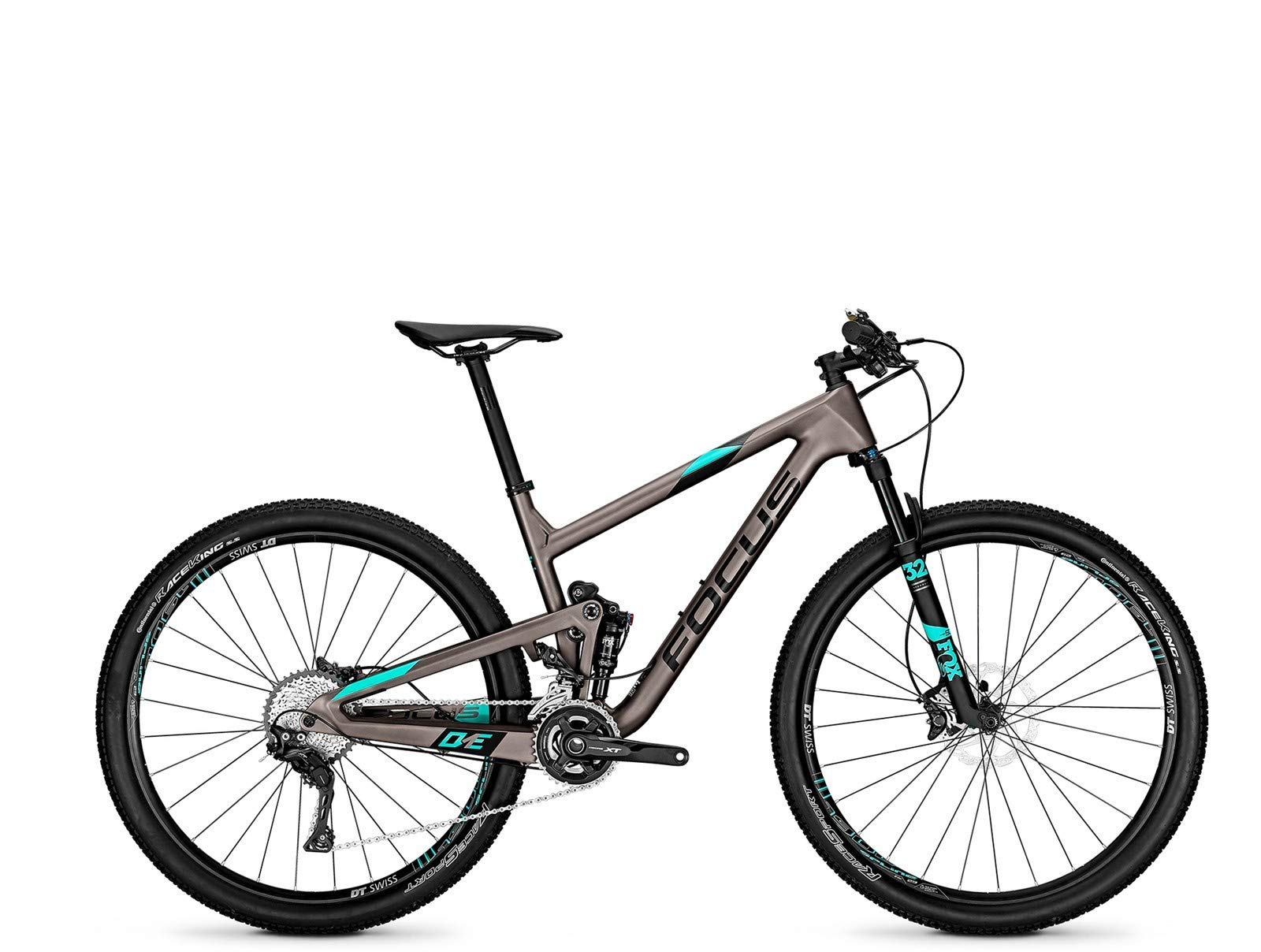 Focus o1e SL 29 Fully Mountain Bike Bicicleta Titanio Mate ...