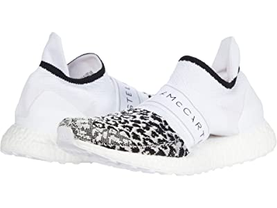 adidas by Stella McCartney Ultraboost X 3.D. Knit Sneaker (Core Black/Footwear White/Solar Orange) Women