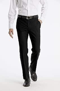 Calvin Klein Men's Modern Fit Performance Flat Front Dress Pant