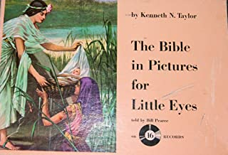 The Bible in Pictures for Little Eyes Boxed Set with 16 Records