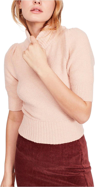 Free People Sugar Pie Sweater Rose LG (Women's 12)