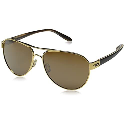 15a52c6d472 Oakley Women s Disclosure Non-Polarized Iridium Aviator Sunglasses