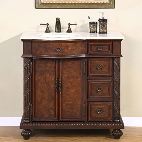 Superb Solid Wood Bathroom Vanities Amazon Com Home Remodeling Inspirations Genioncuboardxyz