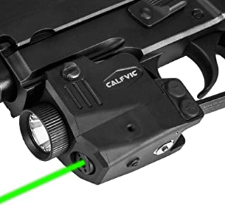 CALFVIC Pistol Light Laser Sight Gun Light Picatinny Weaver Rail with Magnetic Charging Quick Release Strobe Function Tact...