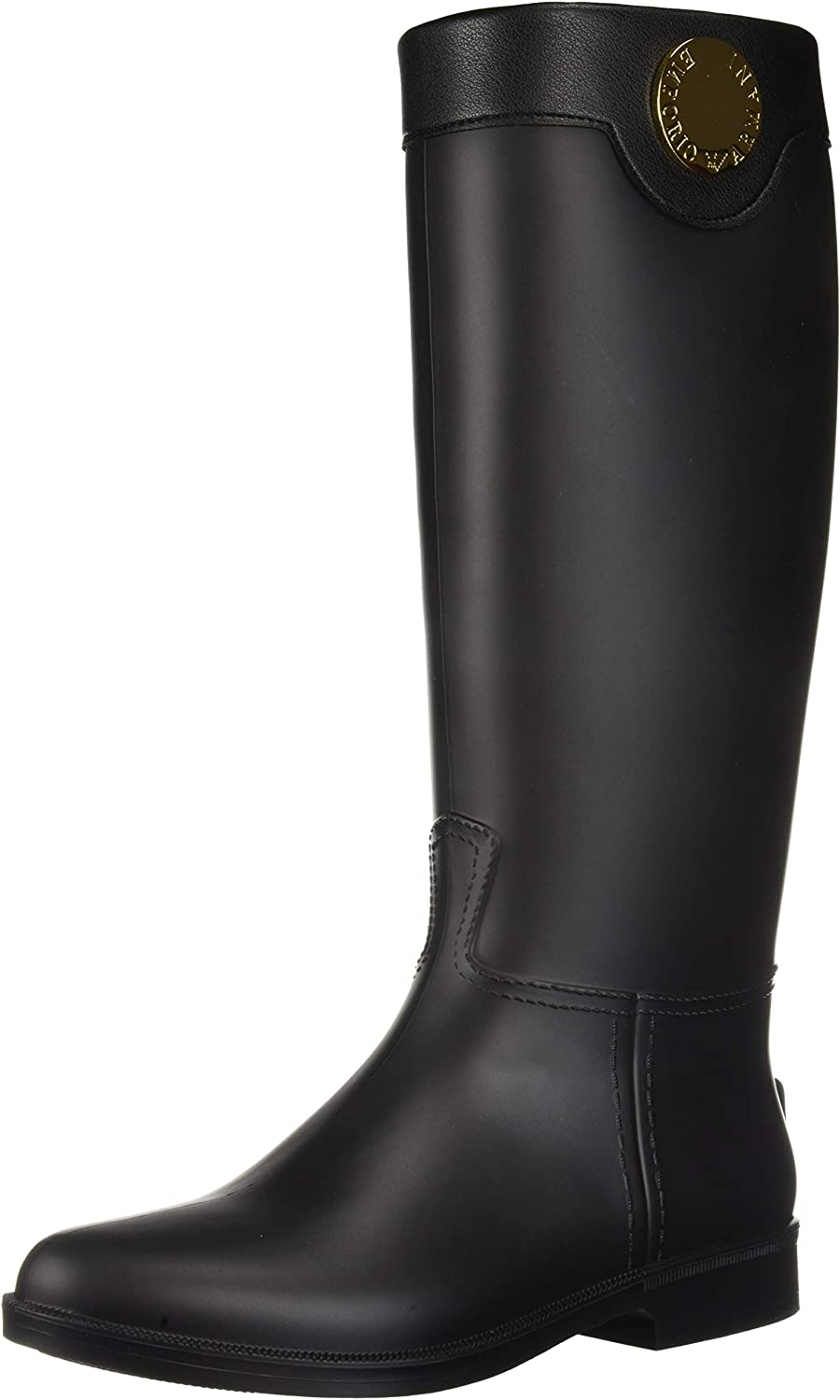 Emporio Armani Womens Tall Rain Boot
