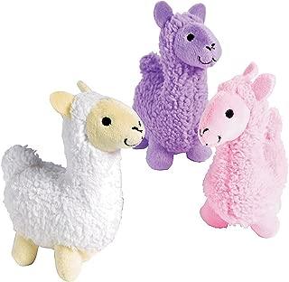 Fun Express Llama Plush Stuffed Animal Toys - 12 Pieces