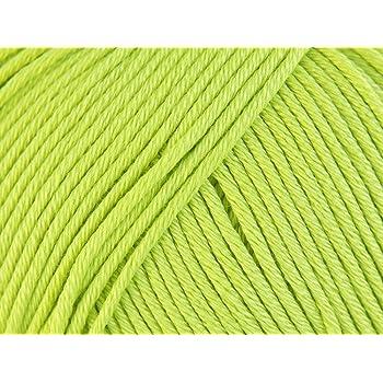 Rico diseño Essentials Doble Hilo de Punto, 100% algodón, Verde ...