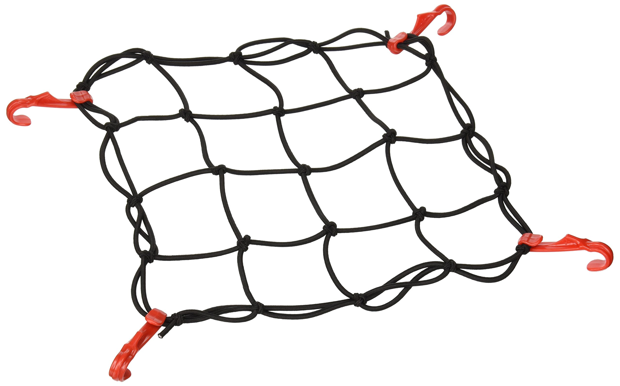 """SUV No Gaps Securing Cargo Nets to Rooftop Carrier Roof Rack Trunk Organizer Net Mesh is Heavy Duty 5mm Thick 2/""""x2/"""" Cargo Hitch 22/""""x38/"""" Roof Rack Net Rocket Straps Bungee Cord Cargo Net"""