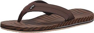 Billabong Men's All Day Impact Supreme Cushion Eva Footbed Sandal Flip Flop, Camel Texture, 9