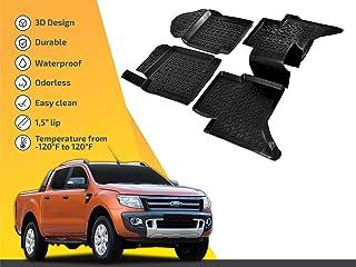 JHCHAN Kits de carrosserie Complet de Voiture pour Ford Ranger Wildtrak T6 T7 T8 2012-2020 PX MK1 MK2 MK3 XL XLT Accessoires ABS Style carrosserie pour Ford Ranger T6 2012-2014