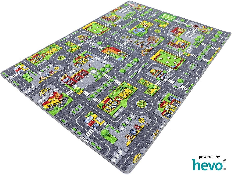 Stadt Mix HEVO® Strassen Spielteppich   Kinderteppich Kinderteppich Kinderteppich 200x280 cm B001SIBCH8 6ebfbf