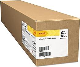 "Kodak KPRO17G Professional Inkjet Photo Paper Roll, Glossy, 10.9 mil, 17"" x 100 ft, White"