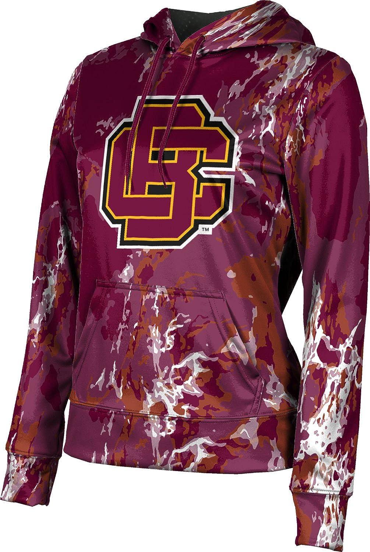 ProSphere Bethune-Cookman University Girls' Pullover Hoodie, School Spirit Sweatshirt (Marble)