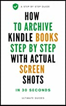Mejor How To Archive Books On Kindle