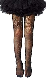 Girls Tights Children's Fishnet Tight 12 Colors Sparkle...