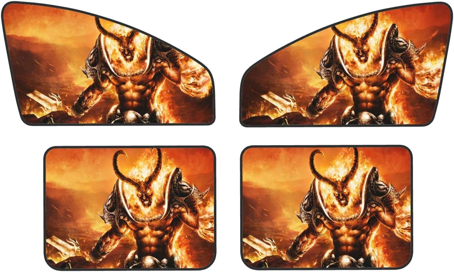 Car Window Sun Shade Sales for sale Front Rear Magnetic Now free shipping Sunshad 4 Piece Privacy