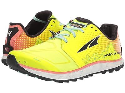 Altra Footwear Superior 4 (Neon/Coral) Women
