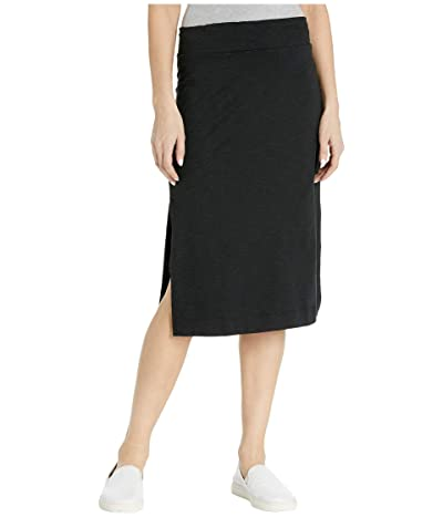 Toad&Co Samba Paseo II Midi Skirt (Black) Women