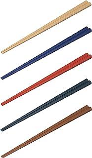 シービージャパン 箸 5膳セット 23cm 日本製 八角箸 食洗機対応 atomico