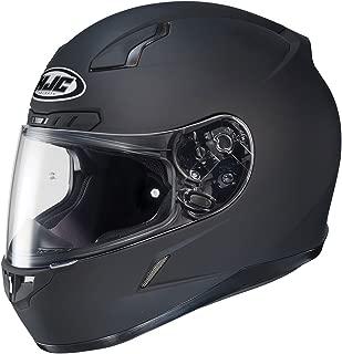 HJC CL-17 Full-Face Motorcycle Helmet (Matte Black, Medium)