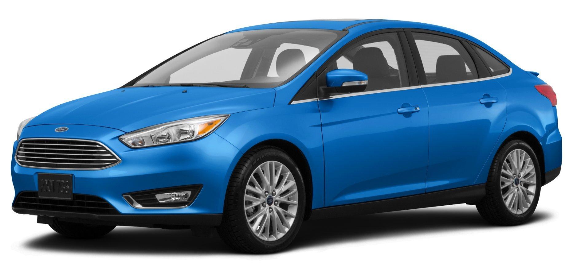... 2015 Ford Focus Titanium, 4-Door Sedan