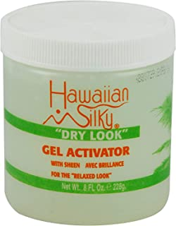Hawaiian Silky Hawaiian silky dry look gel activator 8 fluid ounce, Green, 8 Fl Ounce