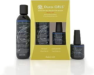 Top Coat Refills for Gel Nail Polish - Long Lasting Soak Off Gels Requires UV/LED lamp, 125ML