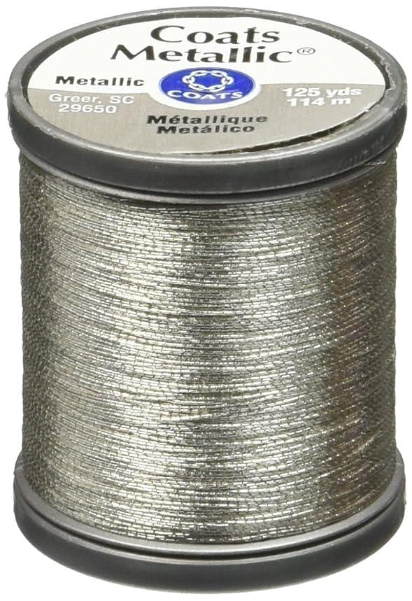COATS & CLARK Metallic Thread, 125-Yard, Silver