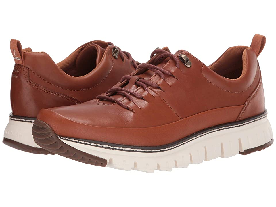 Cole Haan Zerogrand Rugged Oxford (British Tan Leather/Natural/Ivory) Men