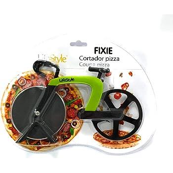 Lifestyle Cortadora Pizzas Bicicleta (Verde): Amazon.es: Hogar