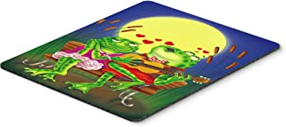 Caroline's Treasures Frog Love Songs Mouse Pad, Hot Pad or Trivet, Multicolor (APH0522MP)
