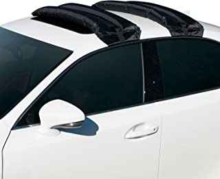 Rakapak Inflatable Ski, Snowboard and Luggage Universal Car Roof Rack, 180 pound (LB) Capacity, Includes Hand Pump, Fits Most Cars and SUV