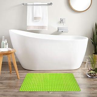Story at Home Mosaic Bath Mat, Neon Green, 78 x 35 cm, BM1101