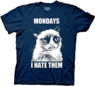 Ripple Junction Grumpy Cat Mondays I Hate Them Adult T-Shirt