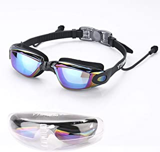 YTSWIM Adult Swim Goggles, Professional Anti Fog No...