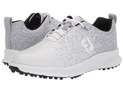 FootJoy FJ Leisure (Silver/White) Women