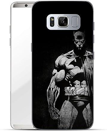 Batman Séries Étui Rigide Samsung Galaxy S8 / S8 Plus - BATMAN BAT pourpre, Samsung Galaxy S8 Plus