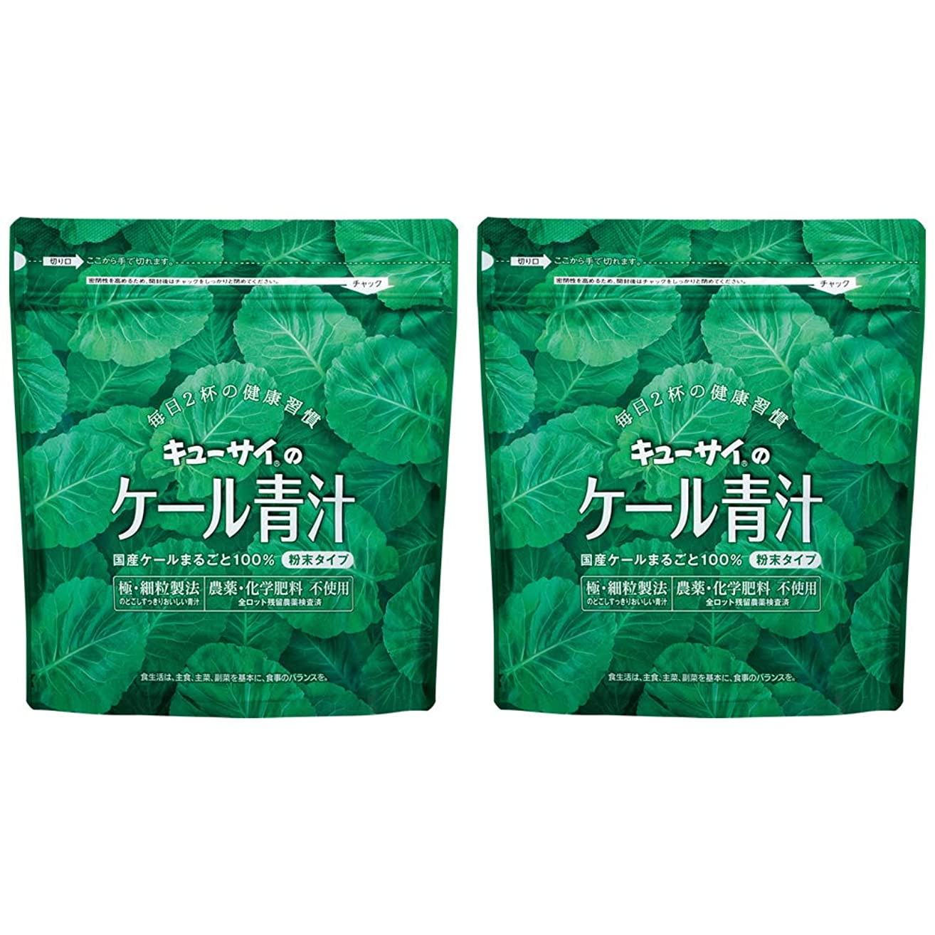 ペチコート迷彩降ろすキューサイ青汁420g(粉末タイプ)2袋まとめ買い/キューサイ ケール青汁【1袋420g(約1カ月分)】