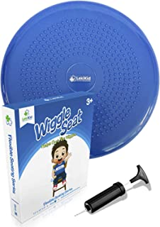 Wiggle Seat for Kids:: Inflatable Wobble Cushion/Wiggle Cushion | Flexible Seating - Perfect for Classroom & Home :: Ages ...
