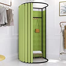 Temporary Changing Room Shopping Center Fitting Room Simple Assembly, Can Accommodate 3-4 People At The Same Time Dressing...