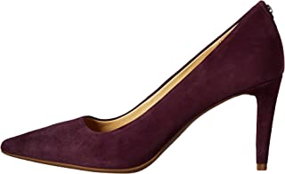 Michael Kors Womens Dorothy Flex Pump Leather Pointed Toe, Damson, Size 5.0