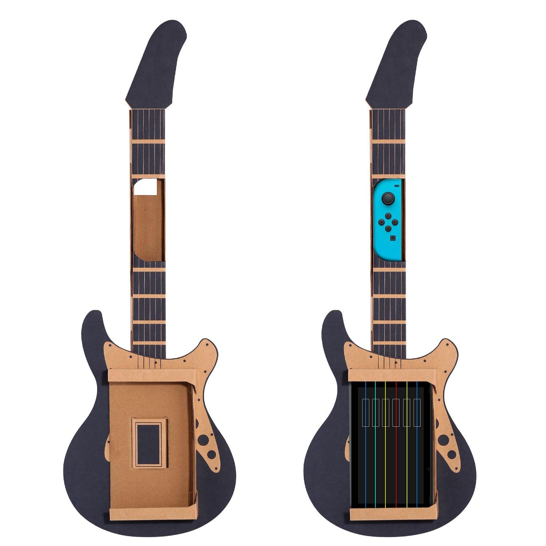 KingTop - Juego de accesorios de cartón para Nintendo Switch, incluye 1 soporte de cartón y 1 guitarra de cartón para Nintendo Switch: Amazon.es: Electrónica