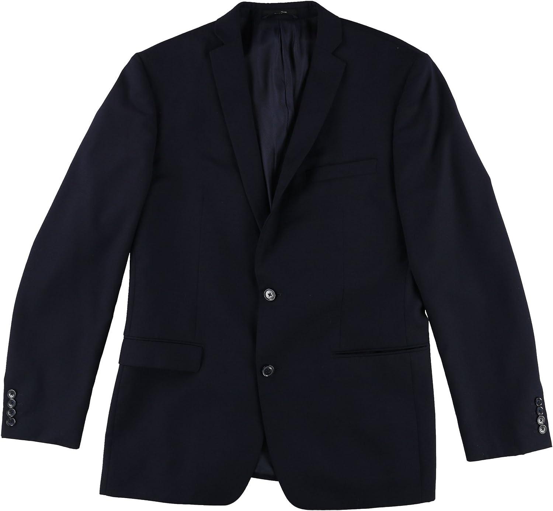 bar III Mens Slim Fit Two Button Blazer Jacket
