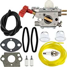 HIPA 753-06288 Carburetor + Tune Up Kit Air Filter for Troy Bilt 25CC String Trimmer Leaf Blower TB35EC TB2044XP TB2040XP TB2MB TB430 Murray M25B M2560 MS2550 MS2560 MS9900 Remington RM430