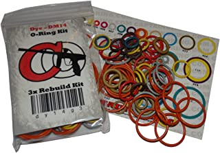 Spyder 09/10 - Color Coded 3X Oring Rebuild Kit (Compatible with 2009 & 2010 Spyder Aggressor Electra MR1 Pilot Sonix Victor Xtra)