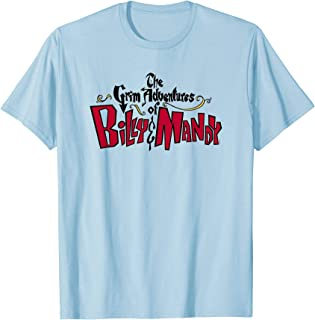 Cartoon Network The Grim Adventures of Billy And Mandy Logo T-Shirt